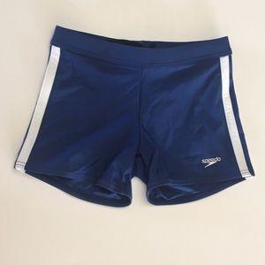 Speedo Shoreline Square Athletic Swimsuit- Men New